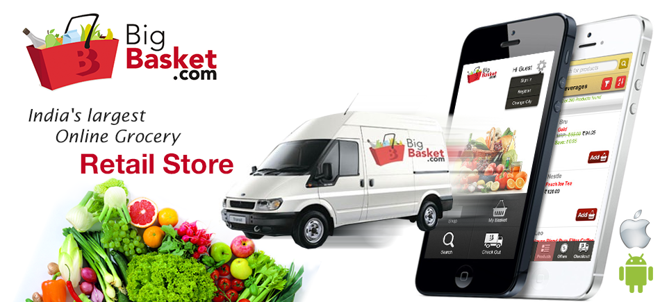 Bigbasket.com is an online food and grocery store details!!